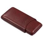 Visol Cigar Case Legend Brown Genuine Leather