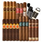 Cigar Samplers 20-Stick, Lighter, & Cutter Combo