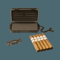 Cigar Samplers Paradigm Humidor, Cutter, 5 Cigars