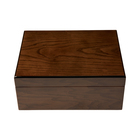 Cigar Humidors Ash Burl Humidor Medium