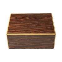 Cigar Humidors Black Calabash Humidor Medium