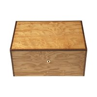Cigar Humidors Olive Ash Burl Medium