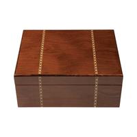 Cigar Humidors Ironwood Marquetry Humidor Medium