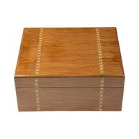 Cigar Humidors Ironwood Marquetry Humidor Small