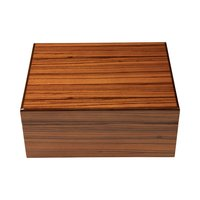 Cigar Humidors Ashton Zebrawood Medium