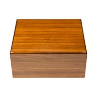 Cigar Humidors Ashton Zebrawood Small