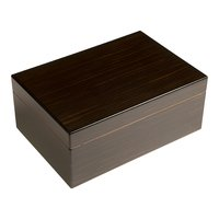 Cigar Humidors Forte 25ct Black Walnut