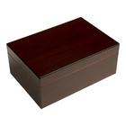 Cigar Humidors Forte 25ct Red Walnut