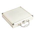 Cigar Humidors Aluminum Briefcase