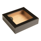 Cigar Humidors Black 20ct