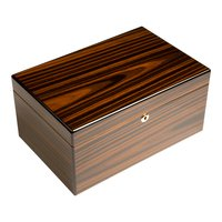 Cigar Humidors Ebony Bourbon 125ct