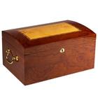 Prestige Cigar Humidors Broadway Burl Wood Arc Top 150 Cigar