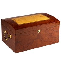 Prestige Cigar Humidors Broadway Burl Wood Arc Top 150 Cigar