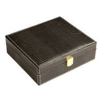 Cigar Humidors Black Cadeau Gift Set