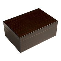 Cigar Humidors Rogue 50ct Black Walnut