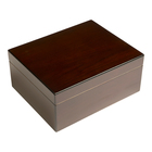 Cigar Humidors 40 CT Red Walnut