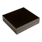Cigar Humidors Black Wood 20-Cigar