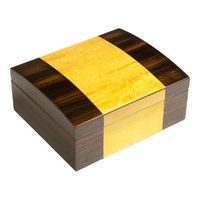 Cigar Humidors Currency 50ct Ebony