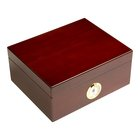 Cigar Humidors 50ct Rembrandt Cherry
