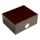 Cigar Humidors 50ct Rembrandt Red