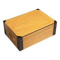 Cigar Humidors 75ct Maple Sycamore