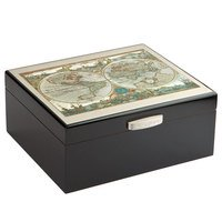 Cigar Humidors Lotus World Map