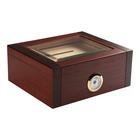 Prestige Cigar Humidors Sovereign Glass Top w/ Ashtray 50 Cigar