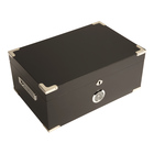 Prestige Cigar Humidors Dakota Black Lacquer Finish