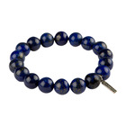 Room 101 Jewelry Stainless Beads Lapis 10MM Bracelet