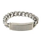 Room 101 Jewelry Stainless Sakura Clip 8.5 In. Bracelet