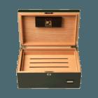 Cigar Humidors Green with Digital Hygrometer