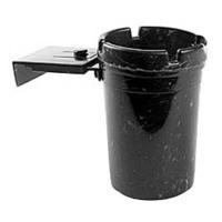 Cigar Ashtrays Cupholder Black For Cigarettes 3ASHB