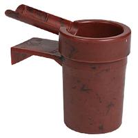 Cigar Ashtrays Cupholder Brown 3ASHBR