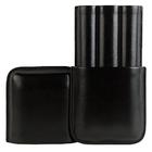 Black Leather 3-Churchill Case