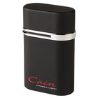 Famous Brand Cigar Lighters Black Cain Triple-Flame Tabletop