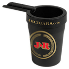 Cigar Ashtrays Cupholder Black With JR Logo
