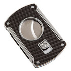 Colibri Cigar Cutters Black Carbon Fiber Slice