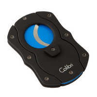 Colibri Cigar Cutters Double Guillotine With Blue Color Coated Blades