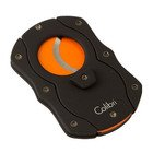 Colibri Cigar Cutters Double Guillotine With Orange Color Coated Blades
