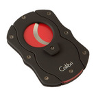 Colibri Cigar Cutters Double Guillotine With Red Color Coated Blades