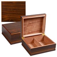 Cigar Humidors Dark Wood
