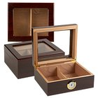 Cigar Humidors Capri Glass Top