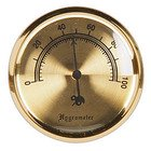 Hygrometers Analog (Gold-Tone)