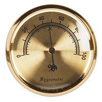 Hygrometers Analog (Gold-Tone)