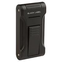 Black Label Cigar Lighters Black Matte Dictator