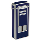 Lotus Cigar Lighters Commander Triple Torch Navy & Chrome