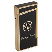 Rocky Patel Cigar Lighters Black Decade Double Torch