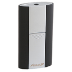 Xikar Cigar Lighters Black & Chrome Flash Single Torch