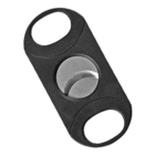 Cigar Cutters Double-Bladed Guillotine Black