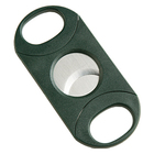 Cigar Cutters Double-Bladed Guillotine Green